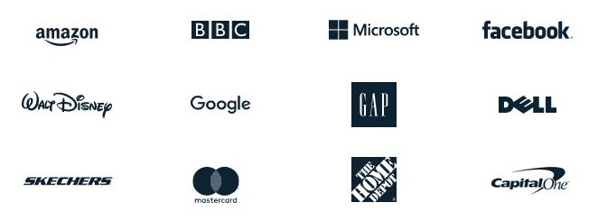 Companies that trust Vecteezy