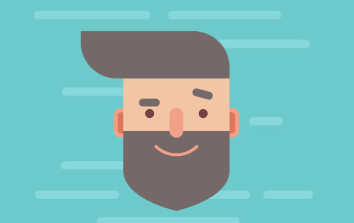 Design a Handsome Flat Hipster Character in Adobe Illustrator