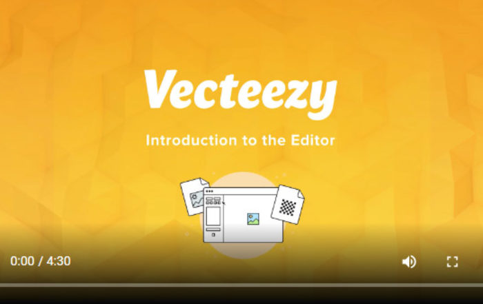 Learn About the Vecteezy Editor!