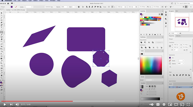 Adding Polygon