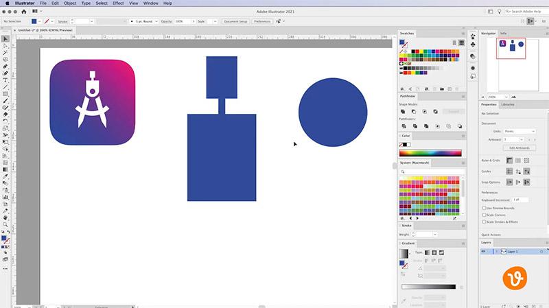 Creating a Custom Shape in Illustrator