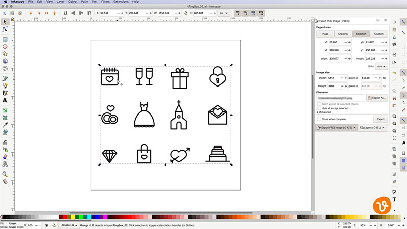 Grouped Icons
