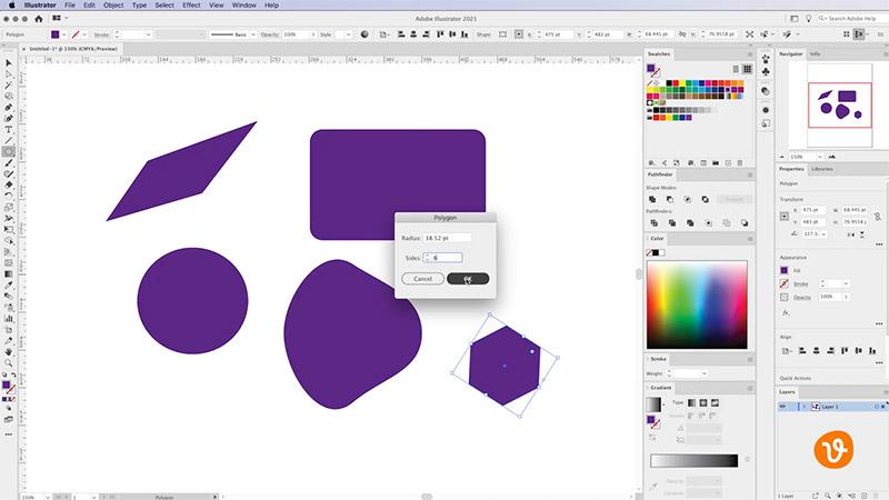 Adding Polygon Tool in Illustrator